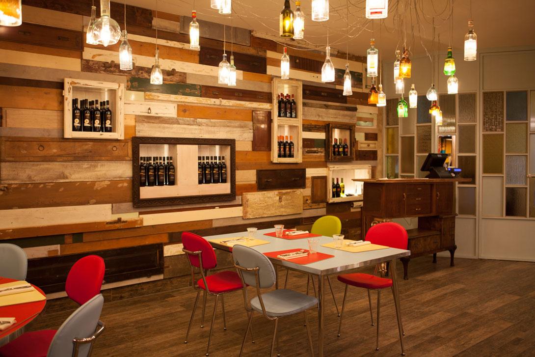 Gallery il tegolo ristorante pizzeria for Arredare con mobili di recupero